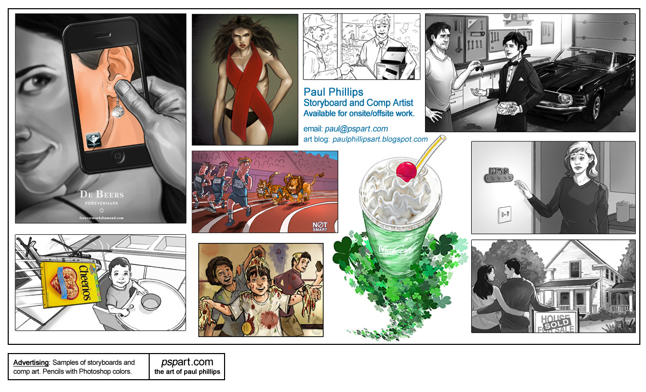 Advertising Storyboard Samples 2