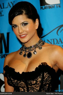 beautiful sunny leone party photo