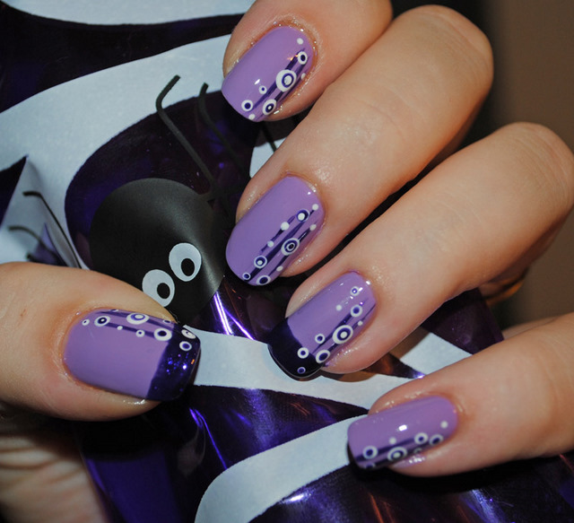 dot nail design stunning different colors nail art flower designs ...