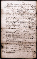 1751 Will of William Reeves Page 1