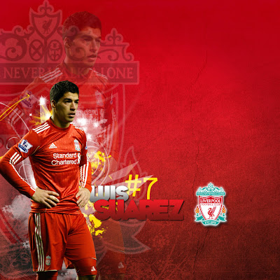 luis suarez ipad liverpool Wallpaper