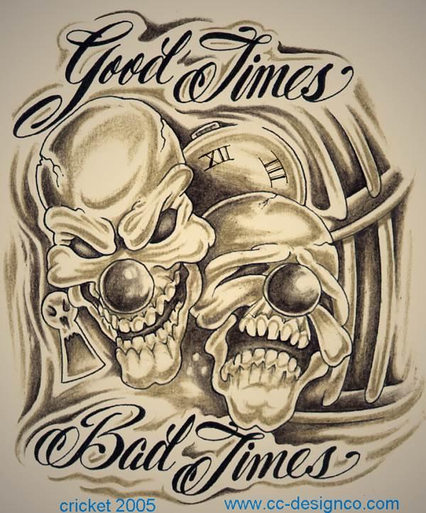 Tattooz Designs: Tattoo Designs Of Clowns