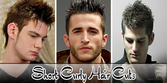 Short Curly Haircuts For Gents Spike Hairstyle For Mens New