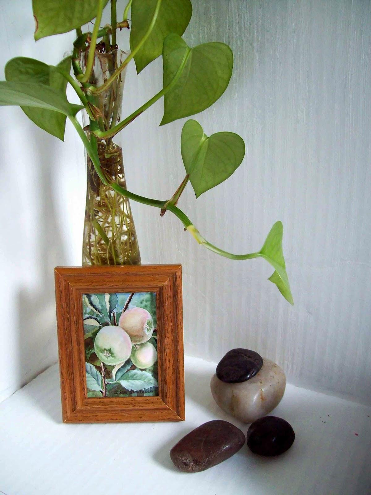 watercolor miniature