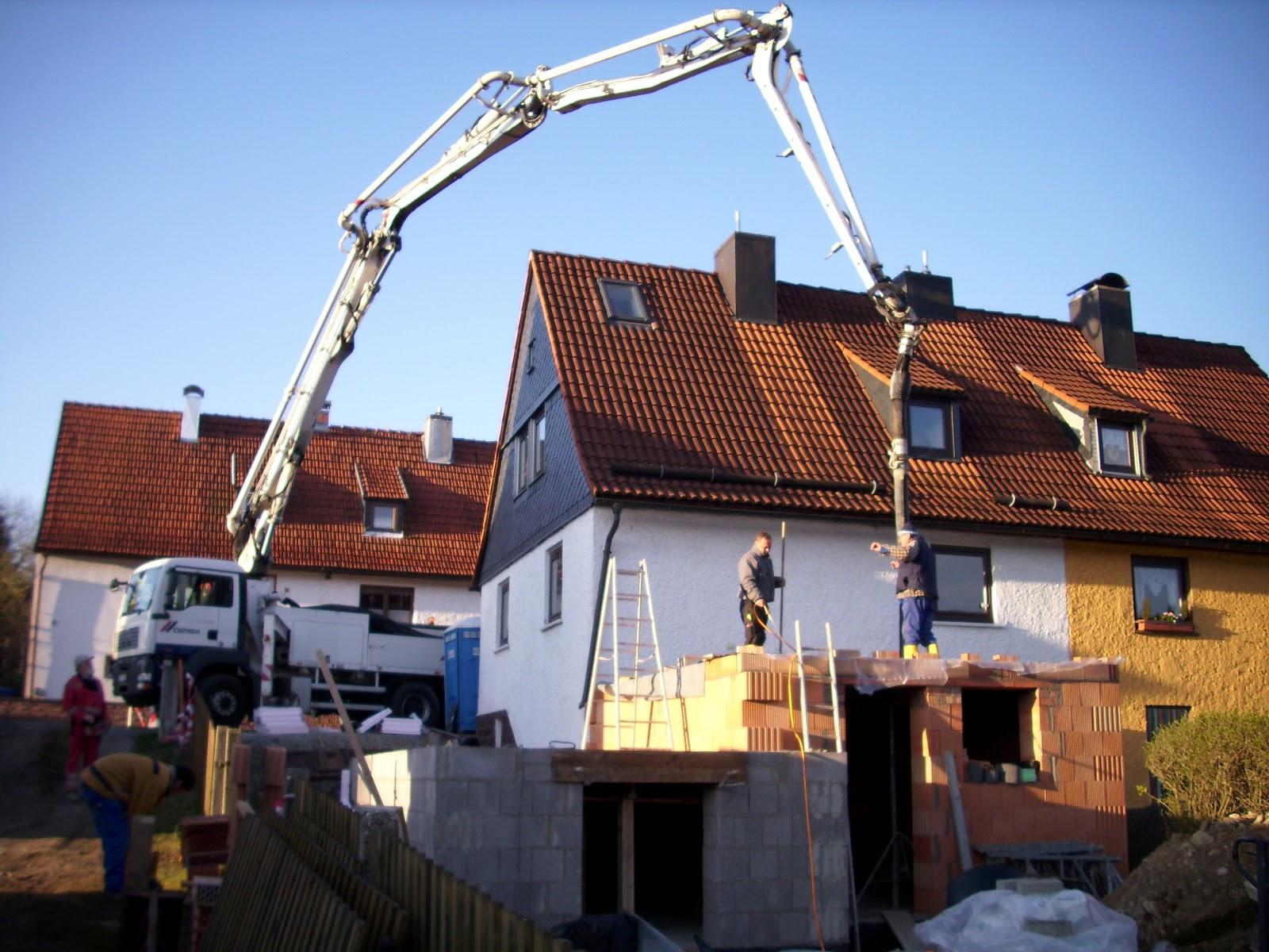 scheler bau baustelle hofmann decke betonieren. Black Bedroom Furniture Sets. Home Design Ideas