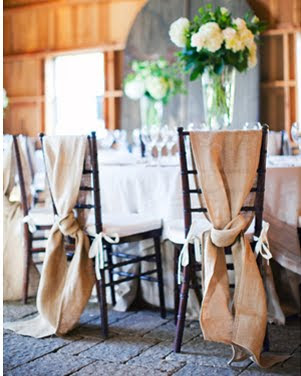 Fabric+chair+ties Your Wedding...Bringing the Destination Home