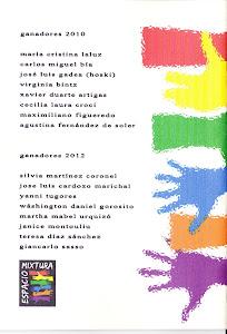 PUBLICACIÓN DE ESPACIO MIXTURA DE LOS PREMIOS 2010-2012
