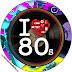Años 80: Etiquetas para Candy Bar para Imprimir Gratis.