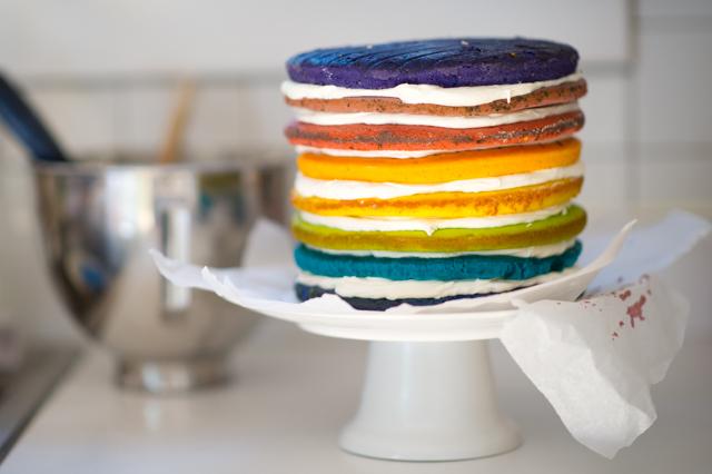 Flash Freeze Cake Layers