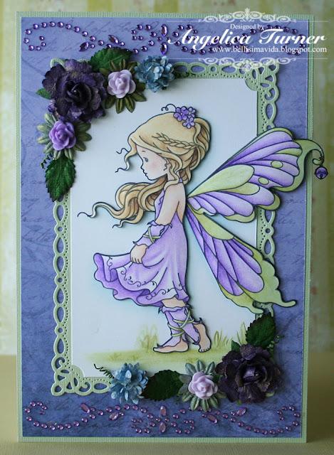 bellisima vida fairy birthday card