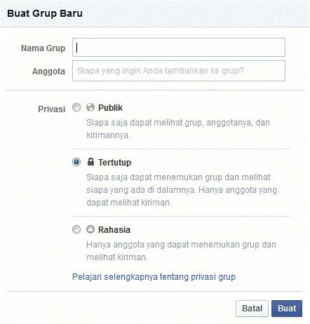 Cara Membuat Grup Di Facebook, Bikin Grup Facebook