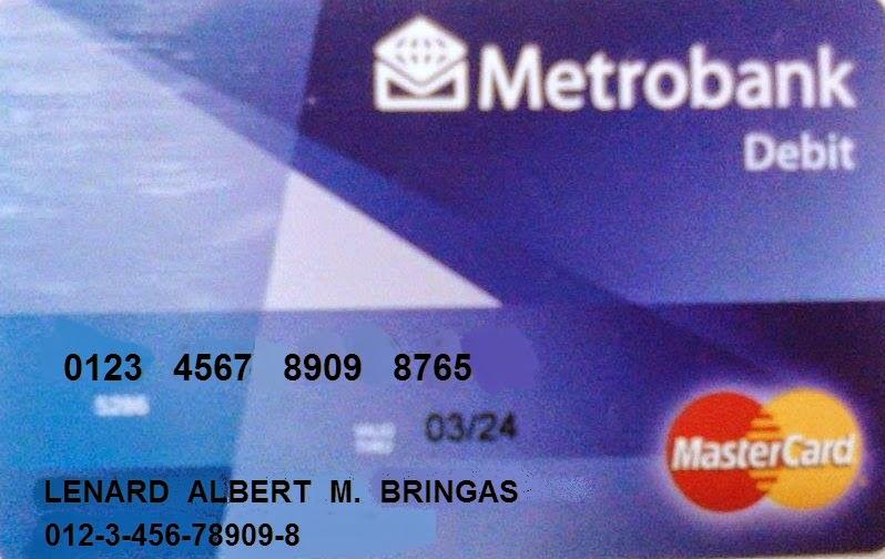 Metrobank Design My Card