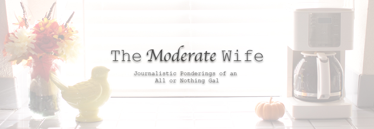 The Moderate Wife