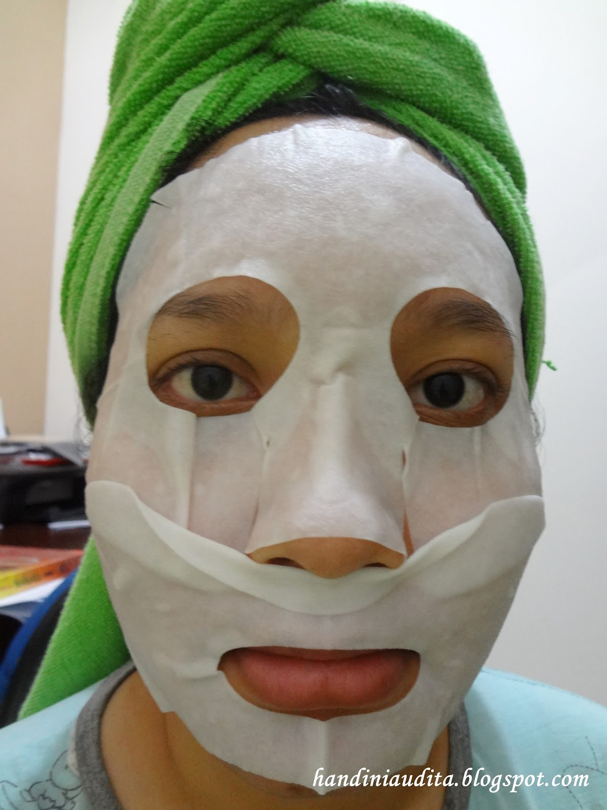 Face Mask_Mentholatum Beauty Mask Rohto.JPG