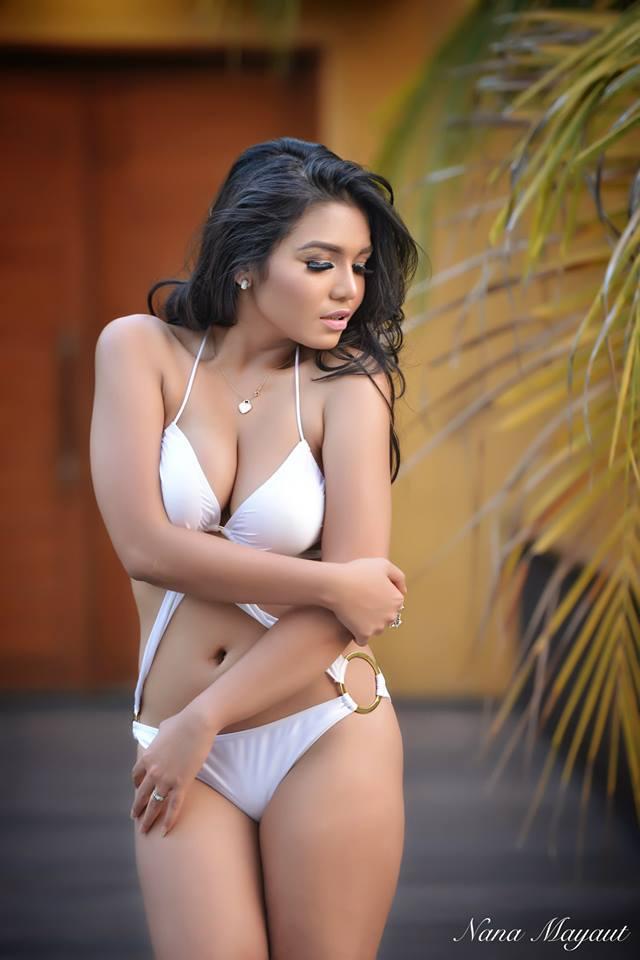 Fadilla Zayn Hot Bikini Photoshoot Model