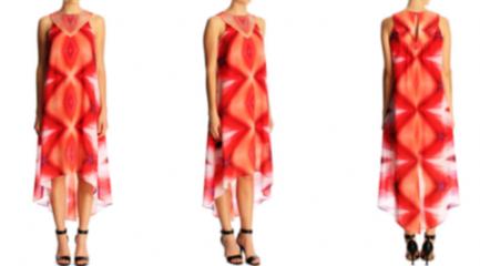Baju motif Miss V - Vagina print
