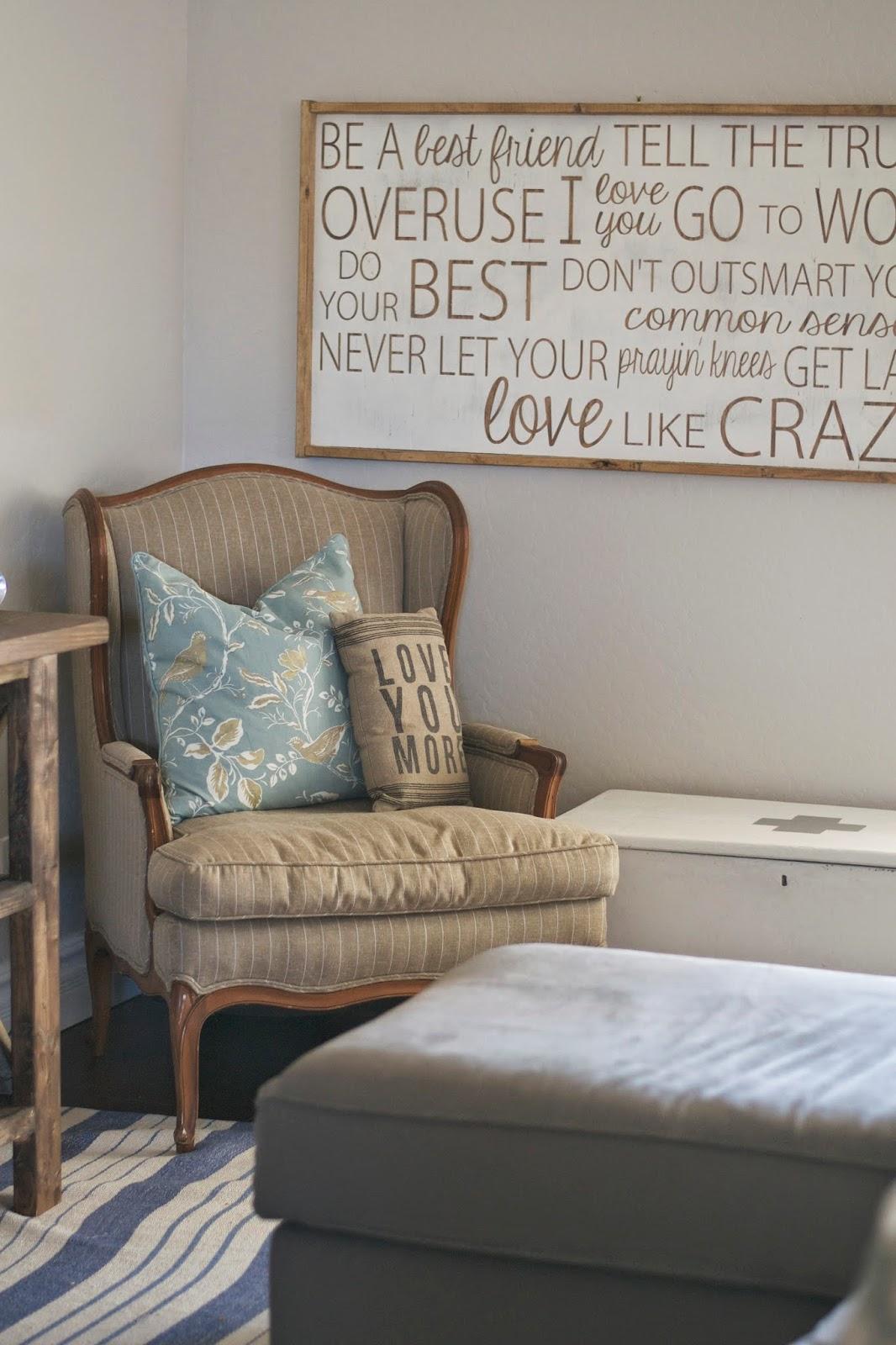 Paddington Way DIY farmhouse console &a peek into our family room