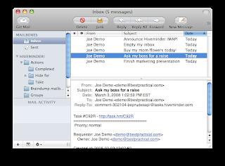 yang digunakan untuk mengelola email Menggantikan peran browser untuk
