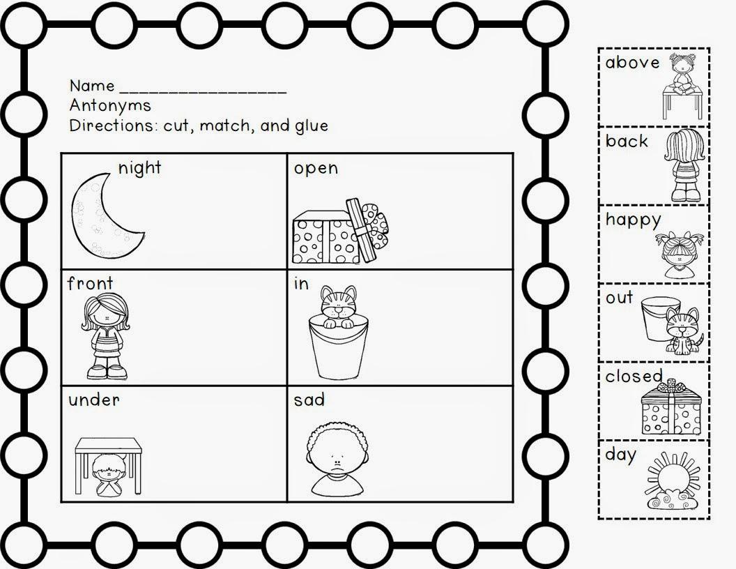 http://www.teacherspayteachers.com/Product/Signs-of-Summer-Antonyms-1230701