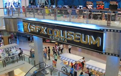 SFX Cinema complex in side the Mall
