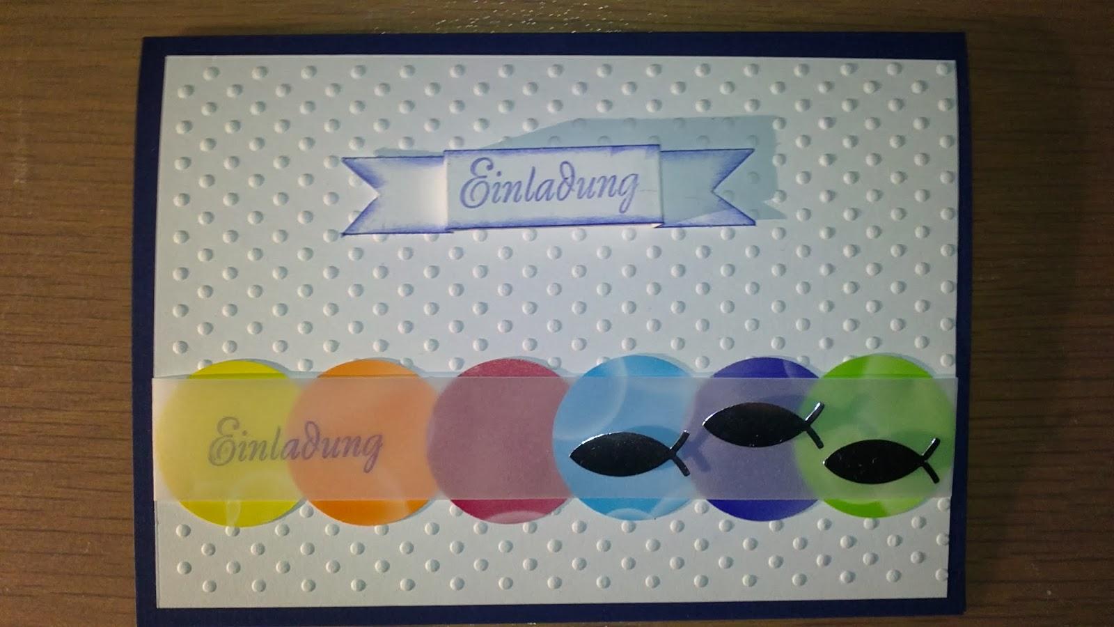 Einladungskarten Selbst Gestalten So Einfach Geht S: Conny´s Kreative Welt: Karten Im Regenbogen Stil Zur