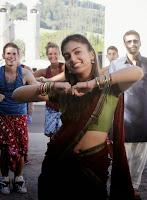 Nazriya Nazim Rare Navel Show Stills 1
