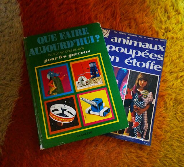 années 70  70s des bouquins de bricolage pour enfants 1970s D.I.Y books