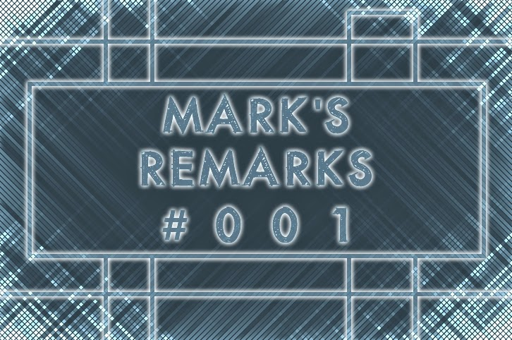 Mark's Remarks #001 - Episode Ranking - Under the Dome