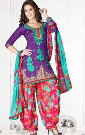 Casual Wear Patiala Suits