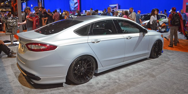 Ford Reveals 400HP Fusion at SEMA