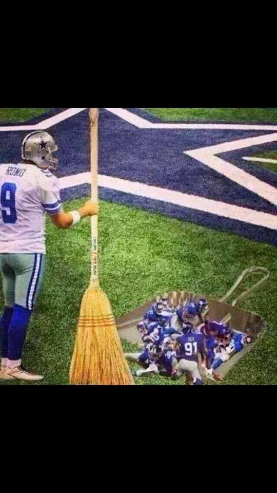 Romo sweeping Giants