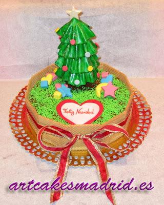Una tarta de Navidad muy especial