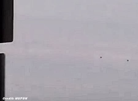 Hovering UFOs Captured on Video in Arizona Skies 1-24-14