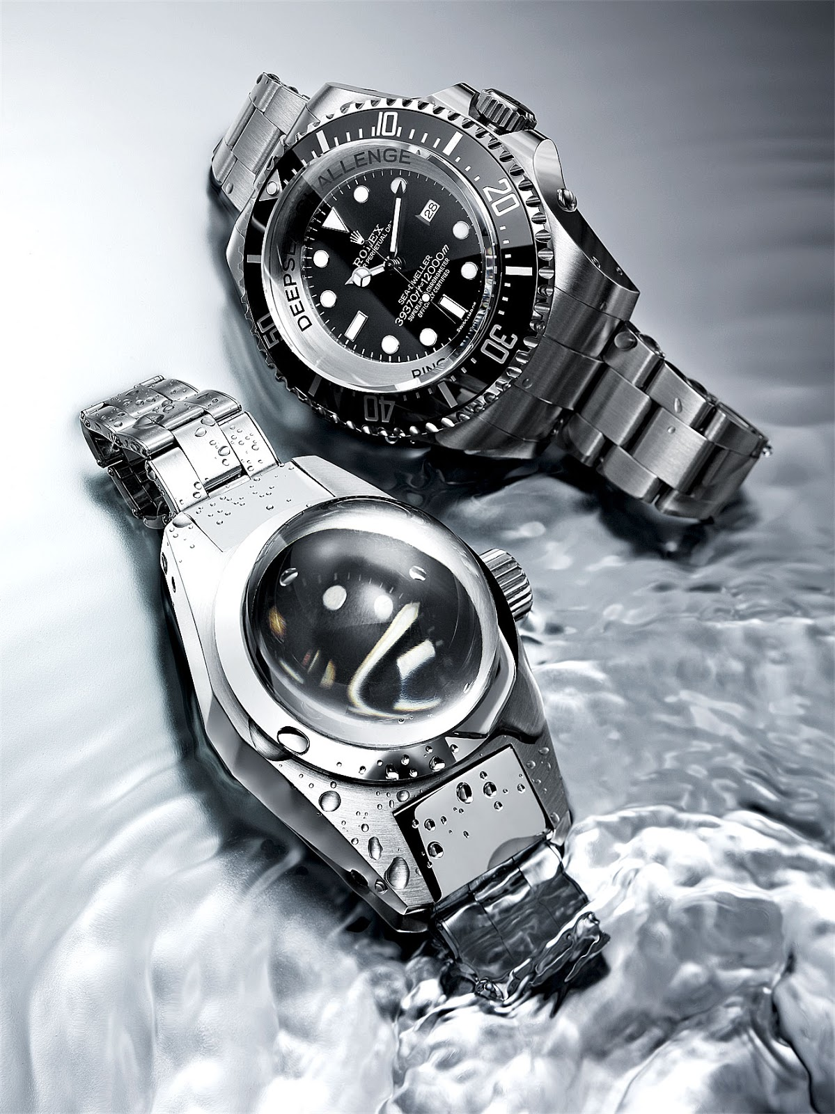 Rolex Sea-Dweller Achieve the Deepest Dives!