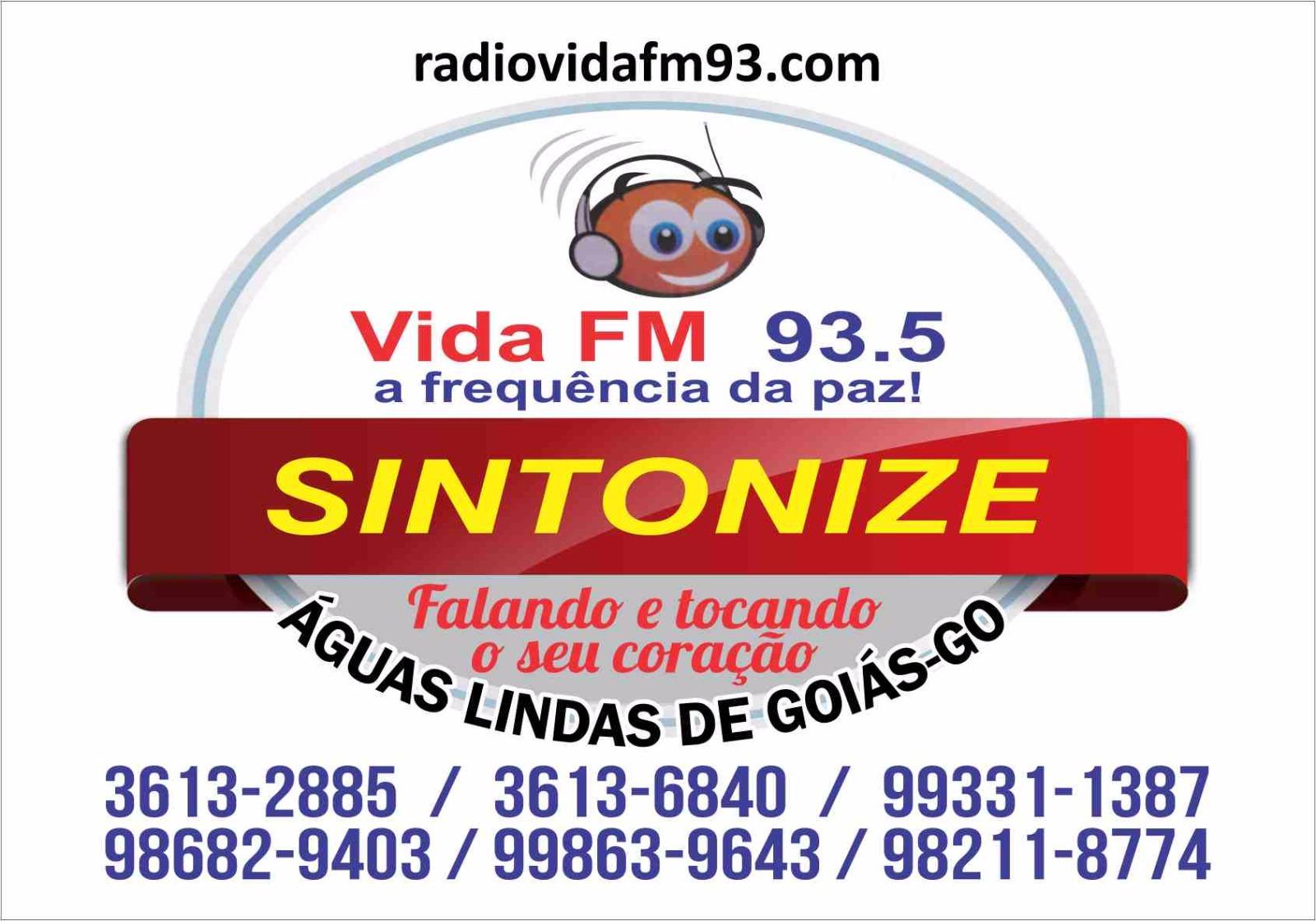 RADIO VIDA FM A FREQUENCIA DA PAZ