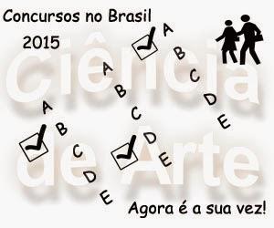 Concursos no Brasil, previstos para 2015
