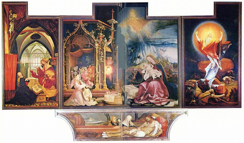 art now and then matthias grunewald. Black Bedroom Furniture Sets. Home Design Ideas