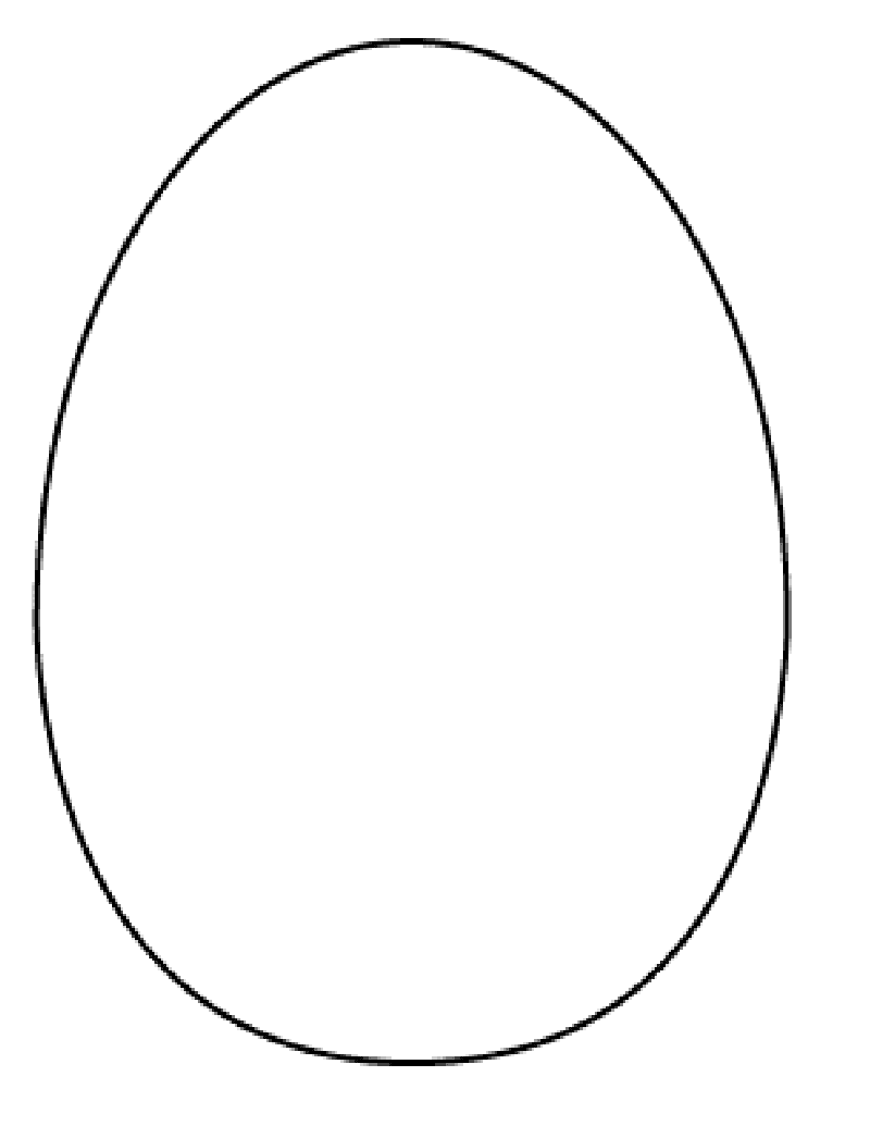 easter egg template - photo #35