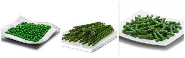 Verduras ultracongeladas