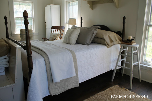 Farmhouse Guest Room Bedroom