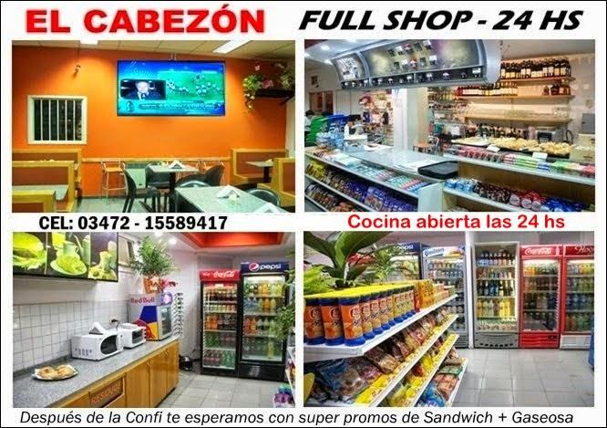 ESPACIO PUBLICITARIO: EL CABEZÓN FULL SHOP