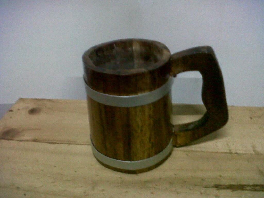 gelas kayu