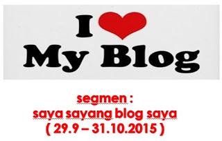 saya sayang blog saya!