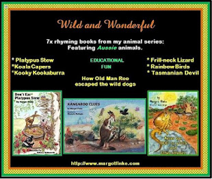 WILD and WONDERFUL Series - Aussie Critters -  Soon to be in Soft Cover!