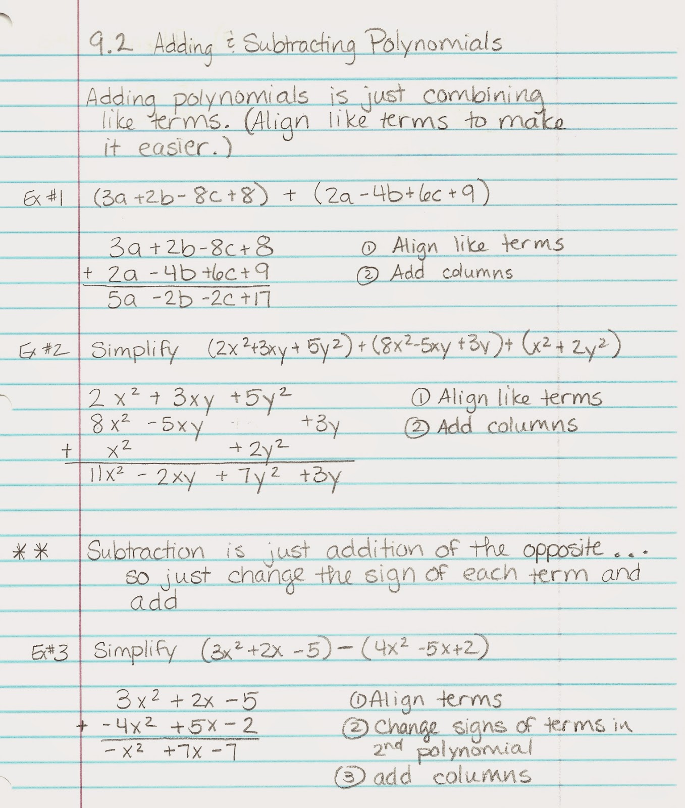 worksheet Algebra 1 algebra alerts 1 and 2 lesson 9 notes notes