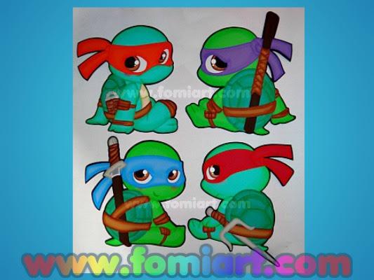 Molde Gratis Leonardo #Tortugas Ninja