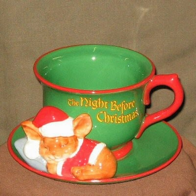 Night Before Christmas Teacup