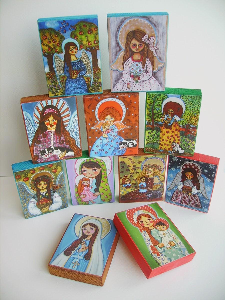 Drewniany obrazek obraz ilustracja dla dziewczynki dziecka księżniczka królewna róża kwiaty łąka wróżki wróżka różowe syrenka syrena balonik króliczek lalka prezent upominek na gwiazdkę ozdoba dekoracja bożonarodzeniowa świąteczna szopka Święta Rodzina Jezus Chrystus Boże Narodzenie Maryja Józef betlejemka anioł aniołek śnieg zima gwiazda noc wigilijna