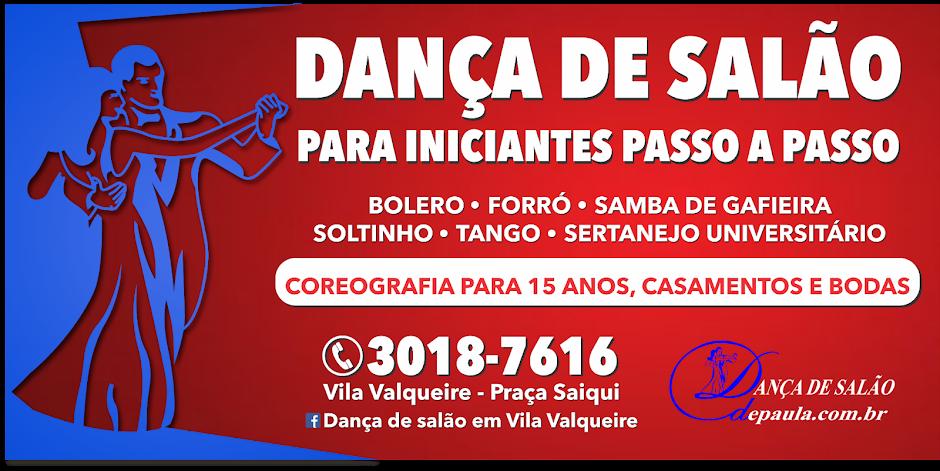 Dança de salão - Aula para iniciantes em Vila Valqueire: