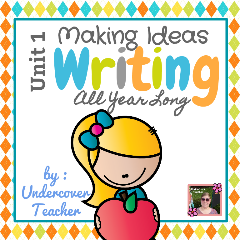 Writing-Unit 1: Making Ideas (K-1)